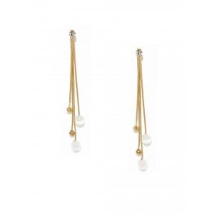 Buy Toniq Gold Toned Swingy Earrings - Nykaa