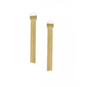 Buy Toniq Gold Toned Selena Earrings - Nykaa