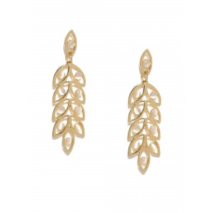 Buy Toniq Olive Branch Earrings - Nykaa