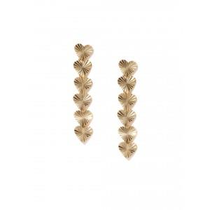 Buy Toniq Heart Drop Earrings - Nykaa