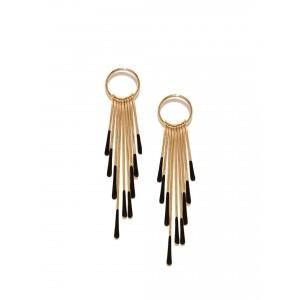 Buy Toniq Gold Kendall Earrings - Nykaa