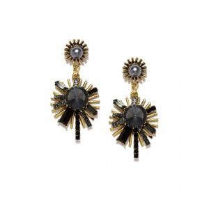 Buy Toniq Black Gisele Earrings - Nykaa