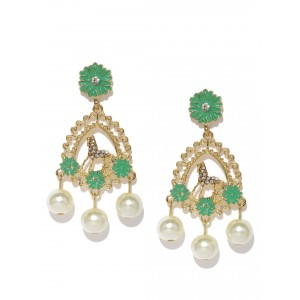 Buy Toniq Claudia Mint Earrings - Nykaa