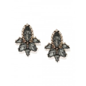 Buy Toniq Party With Black Earrings - Nykaa