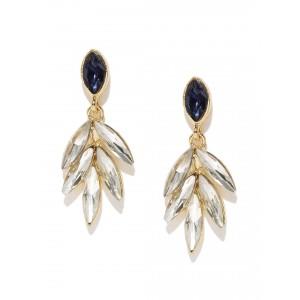 Buy Toniq Gold Toned Olive Earrings - Nykaa