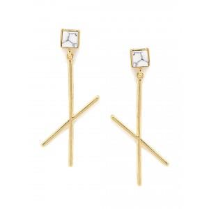 Buy Toniq Grey Spiked Earring - Nykaa