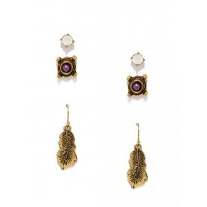 Buy Toniq Feather Earring Set - Nykaa