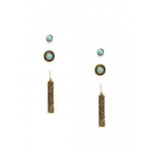 Buy Toniq Fringed Earring Set - Nykaa
