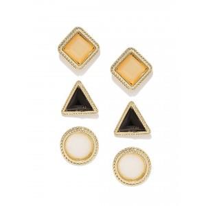 Buy Toniq Geometric Earring Set - Nykaa