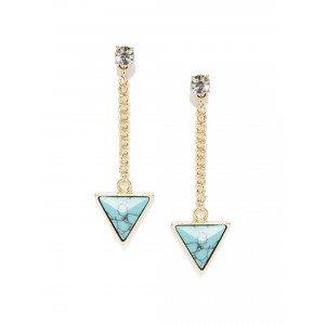Buy Toniq Turquoise Arrow Drop Earring - Nykaa