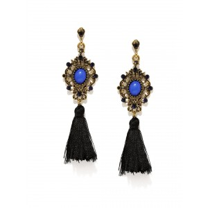 Buy Toniq Milla Tasseled Earrings - Nykaa