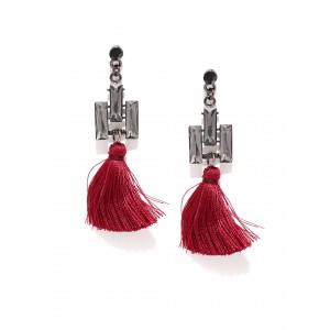 Buy Toniq Kristen Tasseled Earrings - Nykaa