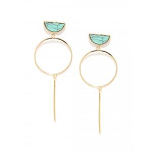 Buy Toniq Turq Moony Earring - Nykaa