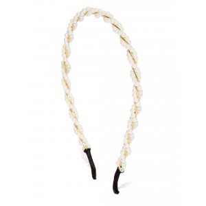 Buy Toniq White Braided Hair Band - Nykaa