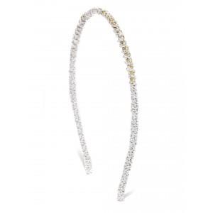 Buy Toniq Silver Princess Tiara Hair Band  - Nykaa