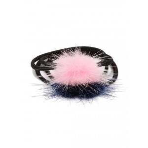 Buy Toniq Set Of 2 Pom Pom Rubber Bands - Nykaa