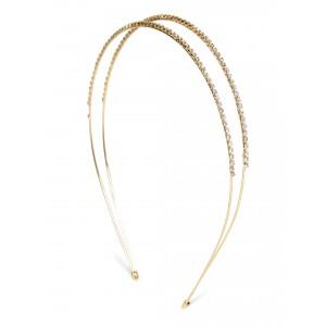 Buy Toniq Golden Princess Tiara Hair Band  - Nykaa