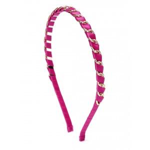 Buy Toniq Fuschia Wired Hair Band - Nykaa