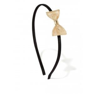 Buy Toniq Golden Bow Hair Band - Nykaa