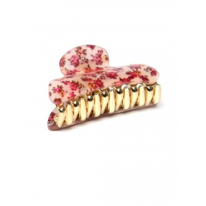 Buy Toniq Pink Floral Hair Clip - Nykaa