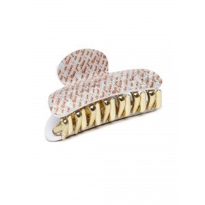 Buy Toniq White Printed Hair Clip - Nykaa