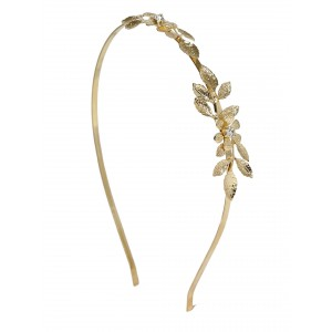 Buy Toniq Diva Gold Toned Hair Band - Nykaa