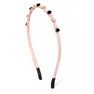 Buy Toniq Pink Embellished Hair Band - Nykaa