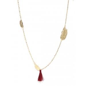 Buy Toniq Tassel Charm Necklace - Nykaa