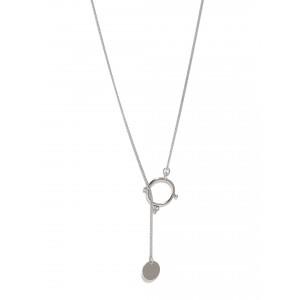 Buy Toniq Daphny Silver Necklace Set - Nykaa
