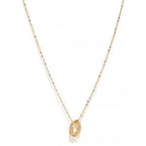 Buy Toniq Gold Knot Charm Necklace - Nykaa