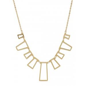 Buy Toniq Gold Box Statement Necklace - Nykaa