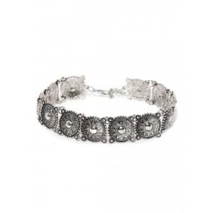 Buy Toniq Silver Dream On Necklace - Nykaa