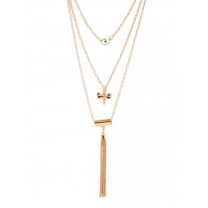 Buy Toniq Rosay Charm Necklace - Nykaa
