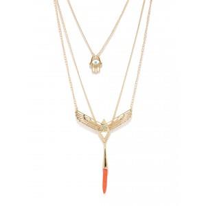Buy Toniq Jessica Charm Necklace - Nykaa
