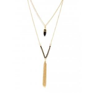 Buy Toniq Layered Tassel Necklace - Nykaa