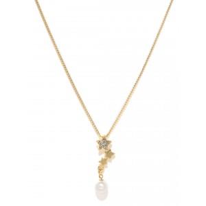 Buy Toniq Gold Toned Cindrella Necklace - Nykaa
