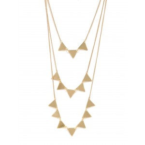 Buy Toniq Gold Spiked Coburt Necklace - Nykaa