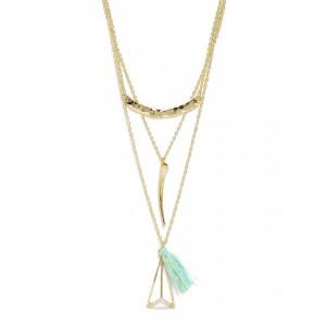 Buy Toniq Gold Tassel Necklace - Nykaa