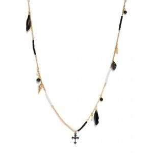 Buy Toniq Black Princess Necklace - Nykaa