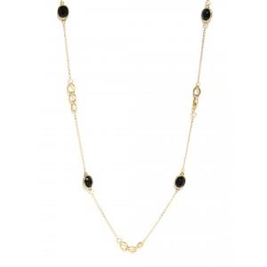 Buy Toniq Black Alohi Necklace - Nykaa