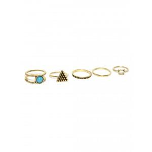 Buy Toniq Bella Swan Ring Set - Nykaa
