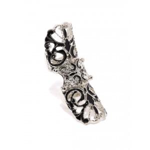 Buy Toniq Silver Warrior Princess Ring - Nykaa