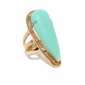 Buy Toniq Turquoise Drop Ring - Nykaa