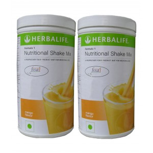 Buy Herbalife Meal Replacement Shakes - Mango 500 g - Set of 2 - Nykaa