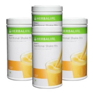 Buy Herbalife Meal Replacement Shakes - Mango 500 g each - Set of 4 - Nykaa