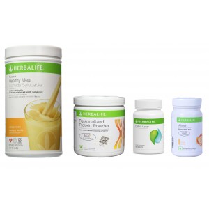 Buy Herbalife Weight Loss Pack- Orange Cream, Cell-U-Loss, Protein Powder & Ginger  - Nykaa