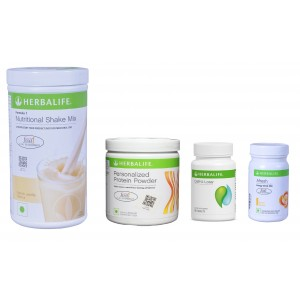Buy Herbal Herbalife Weight Loss Pack- French Vanilla, Cell-U-Loss, Protein Powder & Lemon  - Nykaa