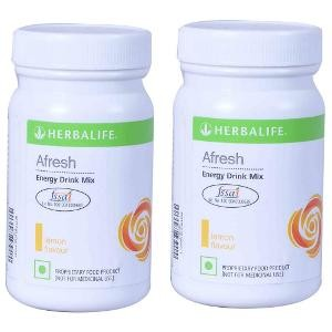 Buy Herbal Herbalife Energy Drink Lemon 50 g - Set of 2 - Nykaa