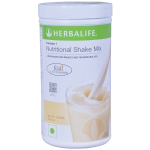 Buy Herbalife Meal Replacement Shake - French Vanilla 500 g - Nykaa