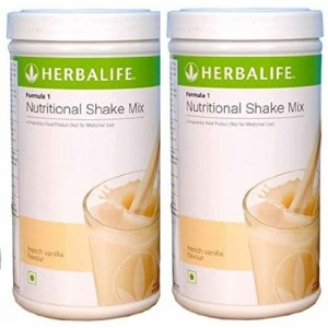 Buy Herbalife Formula 1 Nutritional Shake French Vanilla - Pack of 2 - Nykaa